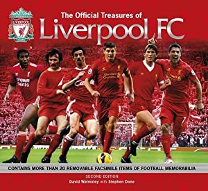 Official Treasures of Liverpool Fc by Carlton Books