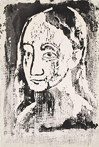 Oil Painting 'Pablo Picasso-Head Of A Young Woman In Three Quarter View,1906' Printing On High Quality Polyster Canvas , 10x15 Inch / 25x38 Cm ,the Best Powder Room Gallery Art And Home Decor And Gifts Is This Imitations Art DecorativeCanvas Prints