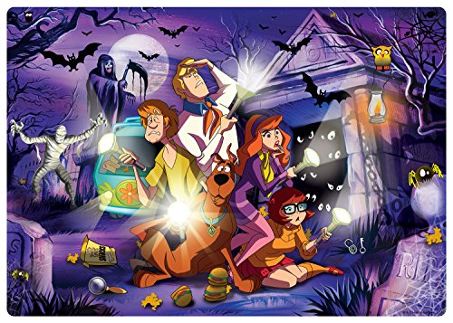 Kid's Jigsaw Scooby Doo with Glow in The Dark Puzzle (48 Pieces)