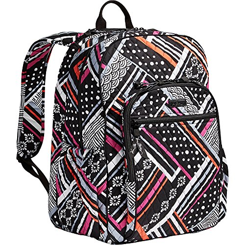 Vera Bradley Campus Tech Backpack, Northern Stripes, One Size