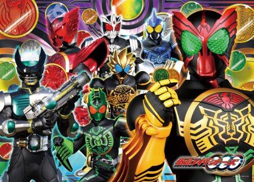 仮面ライダーOOO(オーズ) 300ラージピース 誕生!メダルの戦士たち!! 300-L328