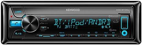 Kenwood KDC-BT45U Autoradios Bluetooth, En Façade