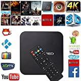 GooBang Doo Android 5.1 TV box, MXQ Pro Android TV Box 64 Bits Amlogic S905 Lollipop OS with Fully Loaded Kodi, Apps