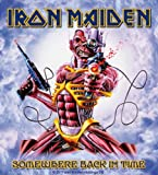Iron Maiden Somewhere Back In Time new Official decal sticker (11cm x 10cm)