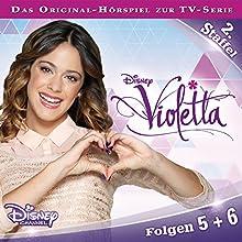 Violetta 5 & 6 (Violetta Staffel 2) Hörspiel von Gabriele Bingenheimer Gesprochen von:  div.