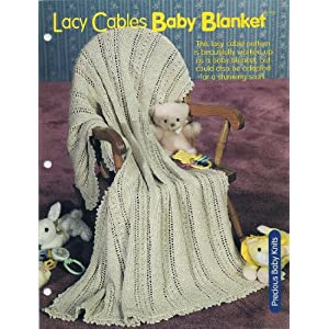 How To Machine Knit Reversible Cables With Baby Blanket Pattern