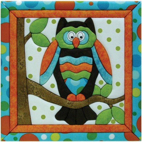 Quilt Magic 12-Inch By 12-Inch Owl Kit front-389428