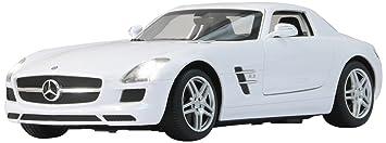 Jamara - 404460 - Maquette - Voiture - Mercedes Sls Amg - Blanc - 3 Pièces