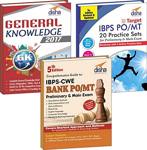 IBPS Bank PO Preliminary & Main Simplified (Guide + 20 Practice Sets + General Knowledge 2017)