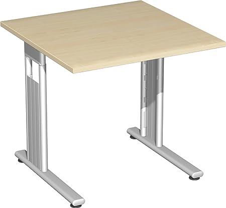 geramoebel scrivania lavoro tavolo LISBONA con altezza fissa