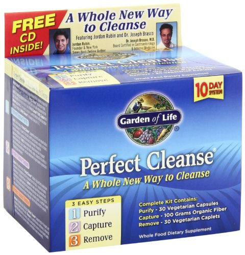 Traditional Foods Online Natural Medicinals Garden Of Life Garden Of Life Perfect Cleanse Kit