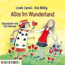 Alice im Wunderland Hörbuch von Lewis Carroll Gesprochen von: Karl Menrad