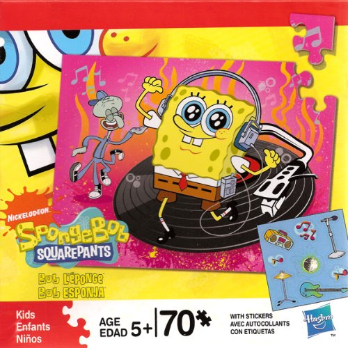 Cheap nick Nickelodeon Spongebob Squarepants 70 Piece Puzzle (B003TMS7ME)