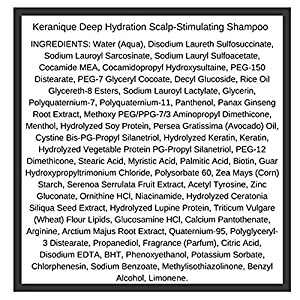 Keranique 30 Day Hair Regrowth System Deep Hydration (Deep Hydration Scalp Stimulating Shampoo and Volumizing Keratin Conditioner 4.5 oz, Lift and Repair Treatment Spray 2.0 oz and Hair Regrowth Treat