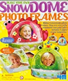4M Make Your Own Snow Dome Photo Frames