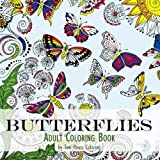 img - for Adult Coloring Book: Butterflies book / textbook / text book