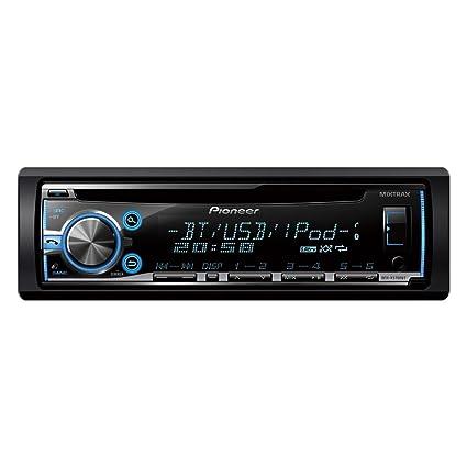 Pioneer DEH-X 5700 BT Autoradios Bluetooth, En Façade