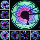 BicycleStore 36 LED Lights 32 Changes Mountain Cycling Bike Tire Wheel Light Double-sided Full Screen Display