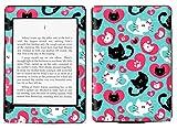 Cute Kittens Cats Pets Animals Pattern Art Print Amazon Kindle Paperwhite Vinyl Skin Decal