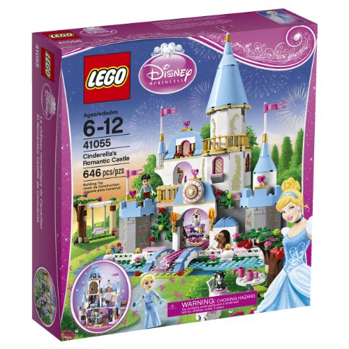 Disney LEGO Disney Princess 41055 Cinderella's Romantic Castle at Sears.com