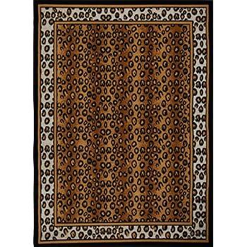 Home Dynamix Zone 56-502 Polypropylene 5-Feet 2-Inch by 7-Feet 4-Inch Area Rug, Black