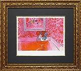 ユーパワー Museum series ミュージアムシリーズ(ジグレー版画) アートフレーム デュフィ 「バラ色の人生」 MW-18061