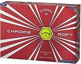 Callaway(キャロウェイ) CHROME SOFTボール 12P 6421352120044 イエロー