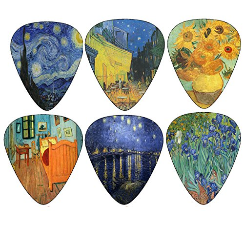 Van-Gogh-Famous-Paintings-Guitar-Picks