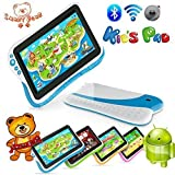 """Smart Bear Kids Pad 7"""" Durable Dual Core Tablet Learning Software Drop Spill Proof PINK video review"""