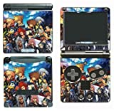 Kingdom Hearts 2 Sora Mickey Minnie Mouse Donald Goofy Yuna Rikku Video Game Vinyl Decal Cover Skin Protector for Nintendo GBA SP Gameboy Advance Game Boy
