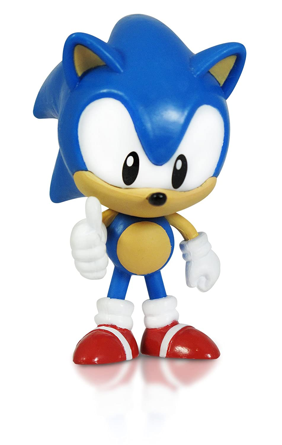 Glitzgamer Sonic The Hedgehog Morphed Classic Sonic Action Figure 2 75 Inch