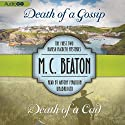 Death of a Gossip & Death of a Cad: The First Two Hamish Macbeth Mysteries Audiobook by M. C. Beaton Narrated by Antony Ferguson