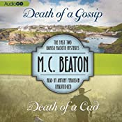 Death of a Gossip & Death of a Cad: The First Two Hamish Macbeth Mysteries | M. C. Beaton