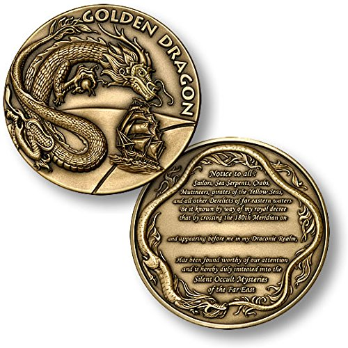 Order of the Golden Dragon Challenge Coin