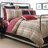 Nautica Bedding: Nautica Eastbourne Plaid Queen Sheet Set