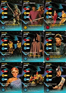 Complete Set of All 26 Common Challenge Cards From Star Trek The Original Series Customizable Card Game (CCG)