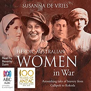 Heroic Australian Women in War Hörbuch