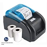 NYEAR Mobile Phones and Computers Thermal Small Two-Dimensional Code Stickers bar Code Label Printer Dual-use Machine for Android and iOS Windows(12 Android +100 Apple) +2 Free Labels (WiFi) (Color: NYEAR, Tamaño: WIFI)