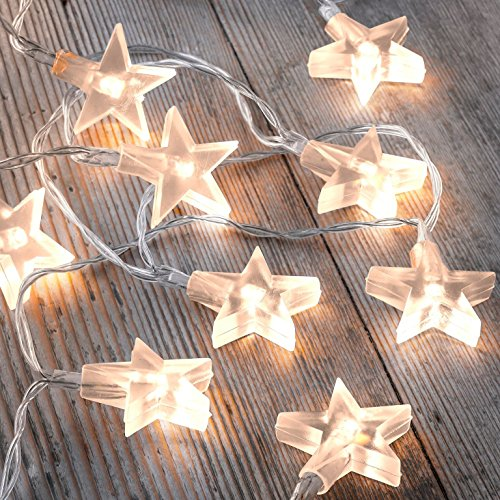 auraglow-set-of-12-battery-operated-25m-indoor-string-led-fairy-lights-with-warm-white-glow-clear-st