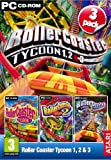 Rollercoaster Tycoon 1, 2 & 3 (PC CD)