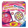 Ravensburger 29987 - romantic - Mandala-Designer 2-in-1