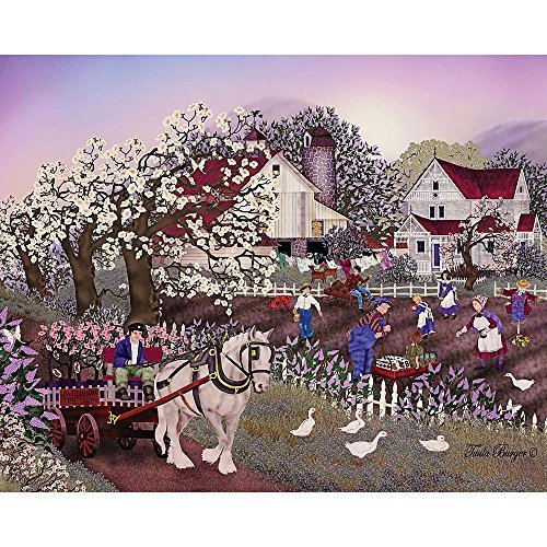 Bits and Pieces - Spring Seeding - 500 Piece Jigsaw Puzzle