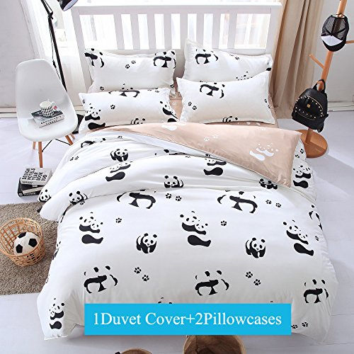Panda 3-piece Bedding Set