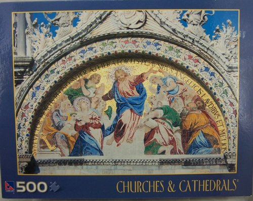 St. Marks Basilica, Italy, Churches and Cathedrals, Jigsaw Puzzle, 500 Pieces