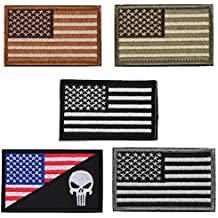 Alcoa Prime Hot Sale America Flag Embroidery Double Faced Cloth Epaulette Armband Badge Army Tactical Patches...