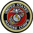 Deluxe US MARINE CORPS USMC Logo Sew On 3 Inch Patch