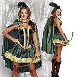ロビンフッドコスチューム (ハロウィン/衣装/コスプレ/パーティー/Halloween/大人用/レディース)Lサイズ