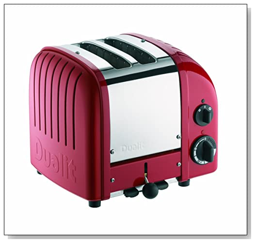 Dualit 2 Slice Classic Toaster Red