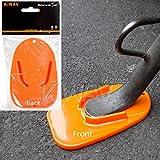 KiWAV motorcycle motorcross orange kickstand pad universal fit KiWAV