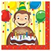 Curious George Luncheon Napkins 16ct